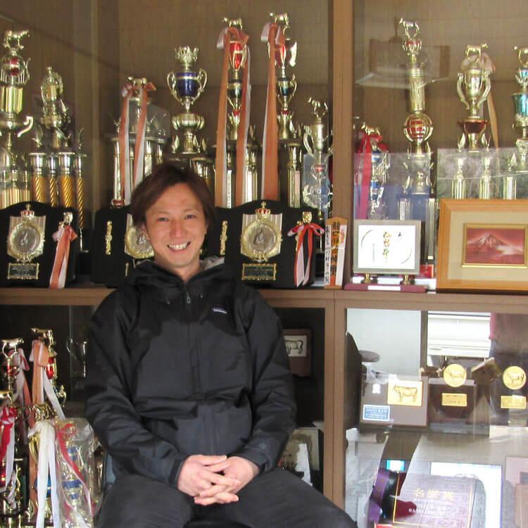 数多くの賞を受賞している川村ファームの川村大樹さん