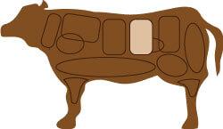 牛肉のサーロインの部位